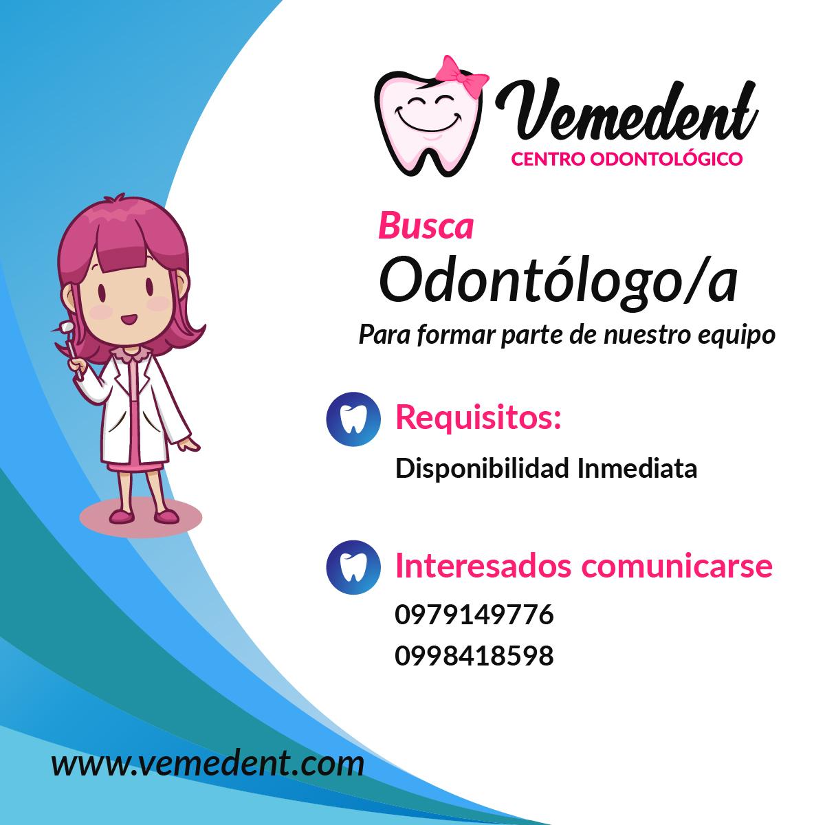 Buscamos Odontólogo