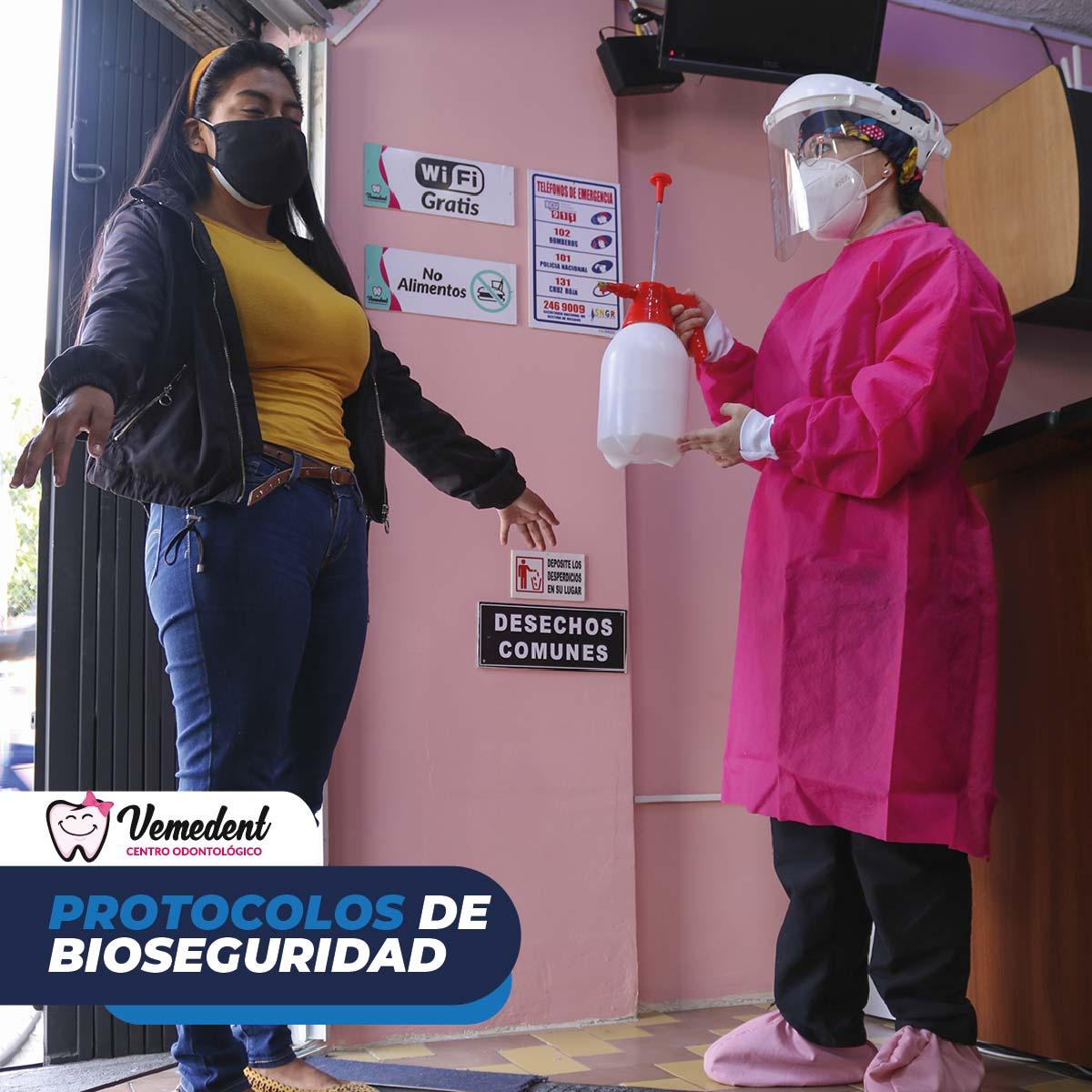 Protocolo de bioseguridad durante y post pandemia COVID-19.